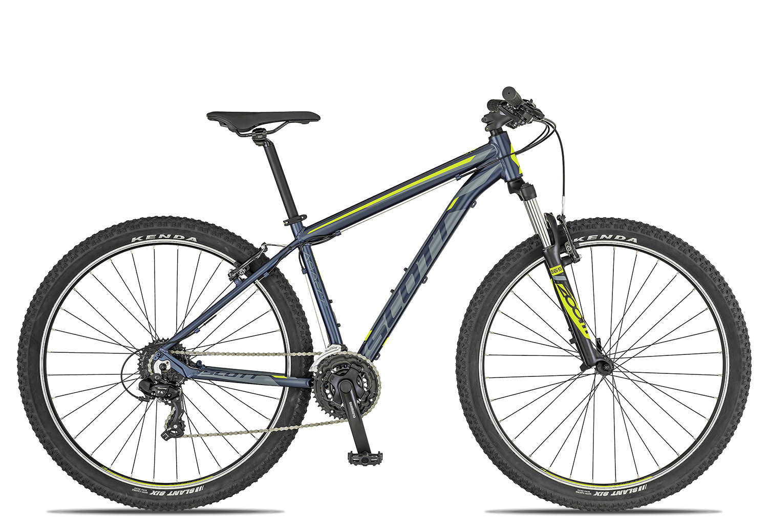 Scott Aspect 980 2019 | 48 cm | dark blue grey yellow auf Rechnung bestellen