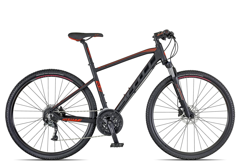 Scott Sub Cross 30 Herren 2018   55 cm   black red