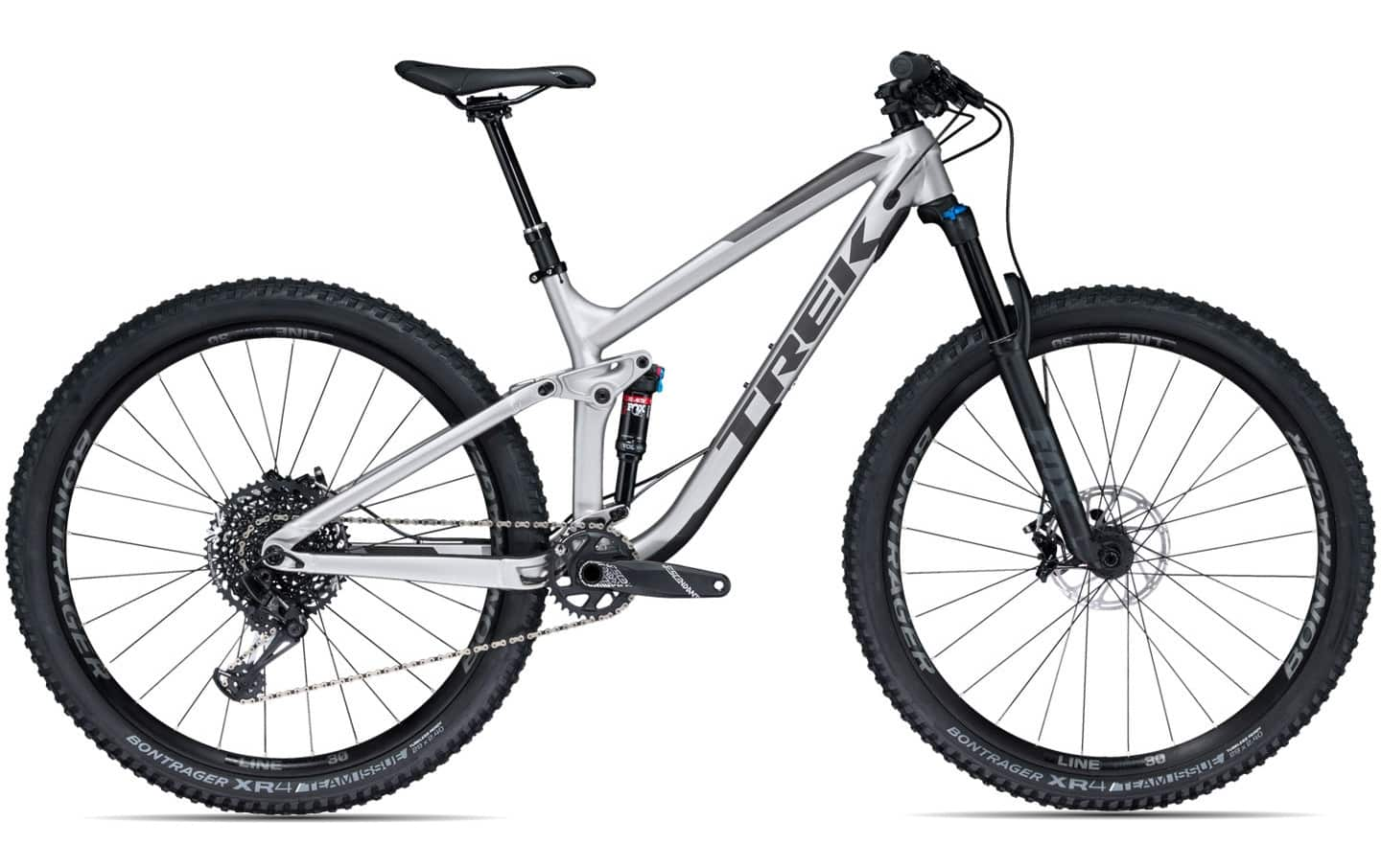 Trek Fuel EX 8 2018 | 19,5 Zoll | Matte Quicksilver