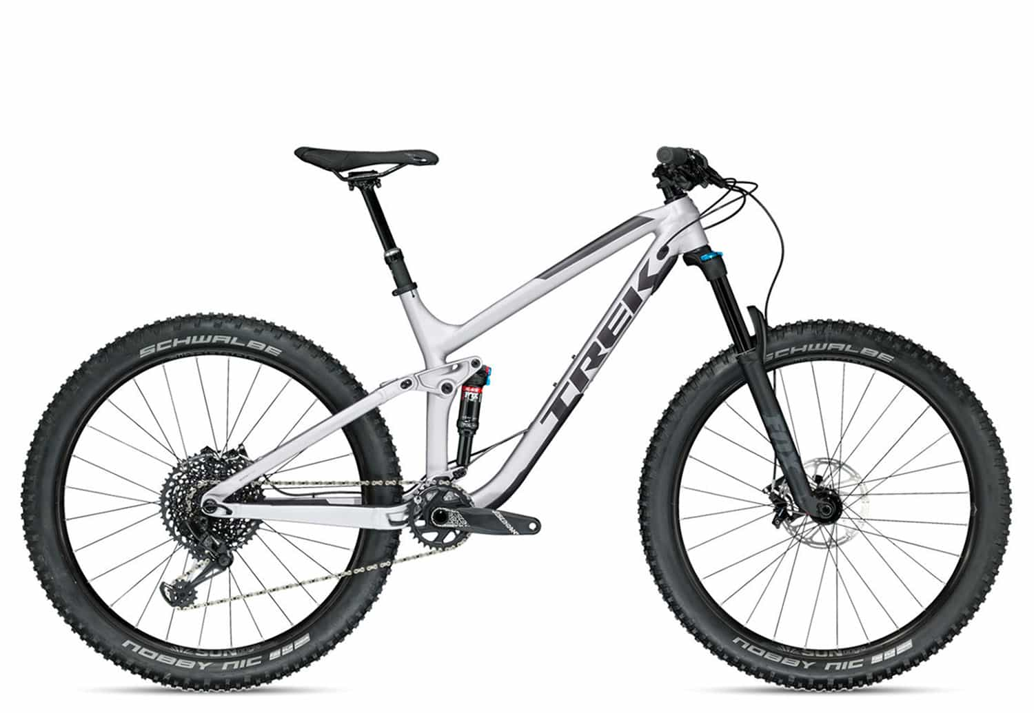 Trek Fuel EX 8 Plus Limited 2018 | 19.5 Zoll | Matte Quicksilver