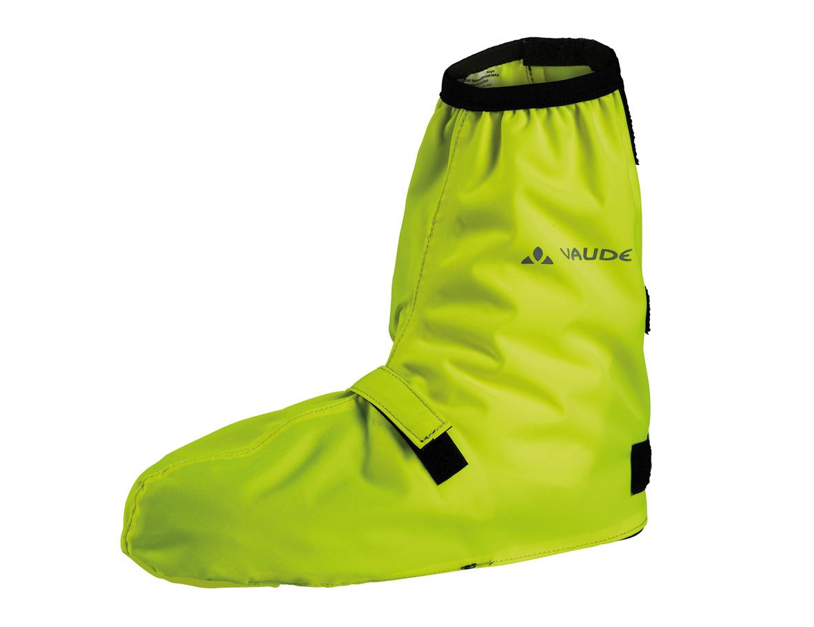 Vaude Bike Gaiter short | 44 46 | neon yellow auf Rechnung bestellen