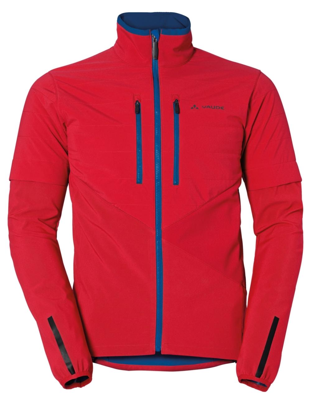 Vaude Primasoft Jacket Men   M   indian red