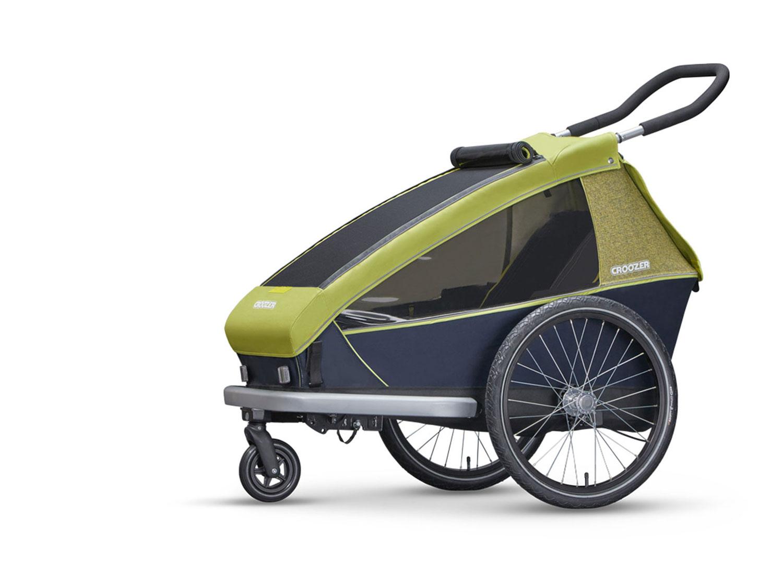 croozer kid for 1 1 kind lemon green markenr der. Black Bedroom Furniture Sets. Home Design Ideas
