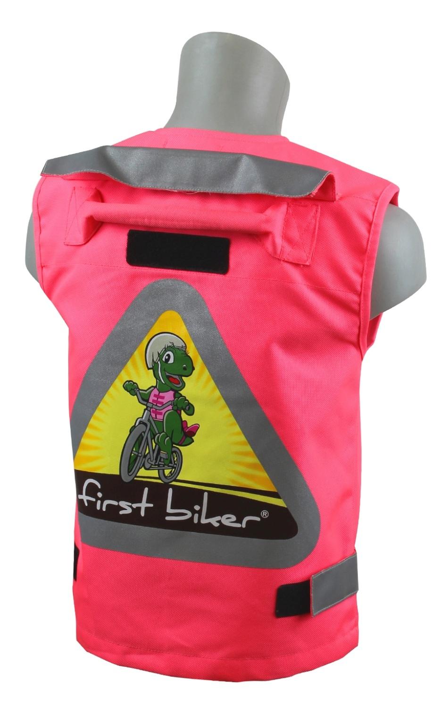 first biker warnweste f r kinder pink jetzt bestellen. Black Bedroom Furniture Sets. Home Design Ideas