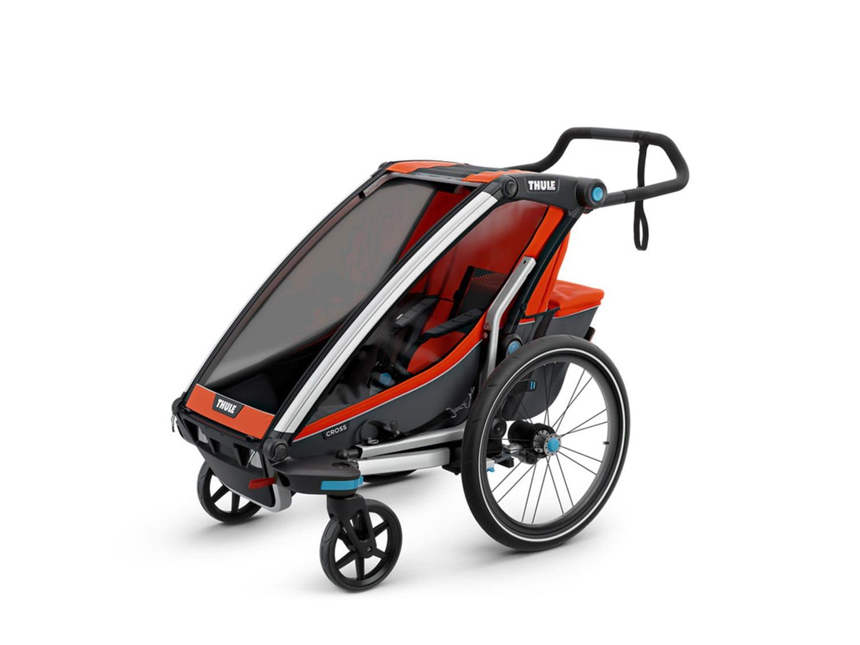 thule chariot cross multisport fahrradanh nger markenr der zubeh r g nstig kaufen lucky bike. Black Bedroom Furniture Sets. Home Design Ideas