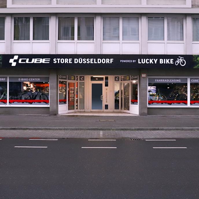 LUCKY BIKE Cube Store Düsseldorf