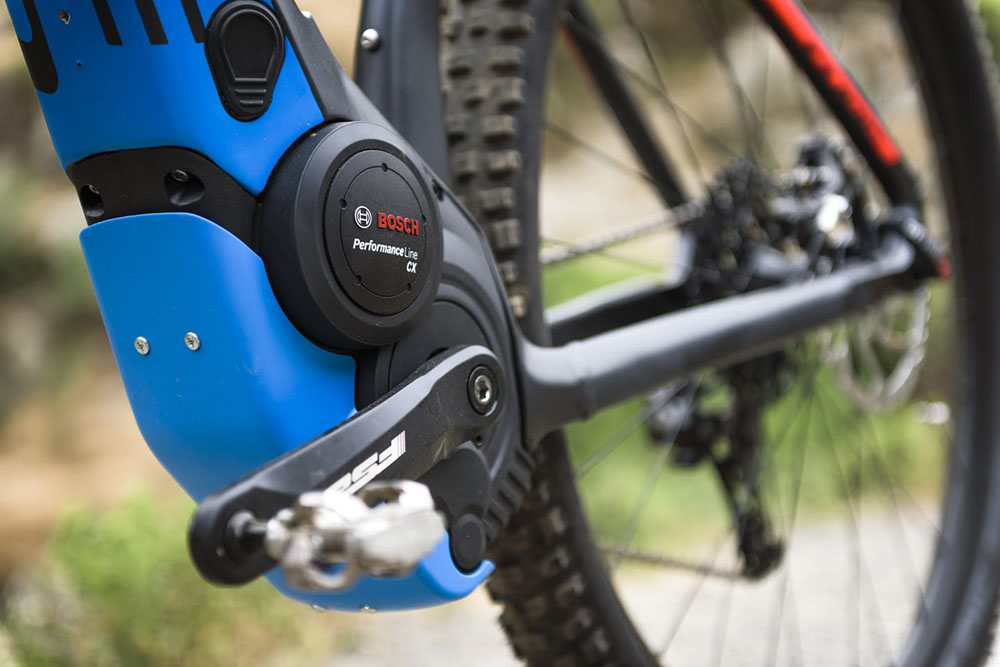E-MTB mit Boschantrieb bei Lucky Bike kaufen - Bosch Performance Line CX Motor