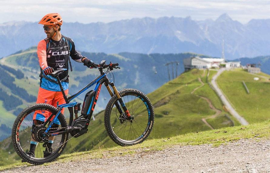 Fully E-MTB bei Lucky Bike für die perfekte Bergtour. Fully Mountainbike mit Elektromotor
