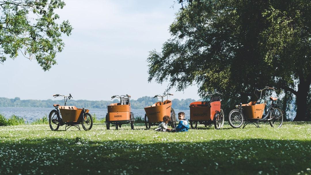 Lastenbikes von Babboe bei Lucky Bike und Radlbauer online kaufen