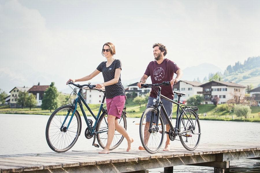Trekkingrad - Trekkingräder bei Lucky Bike im Online Shop - Cube KTM Kalkhoff Trek Focus Axess