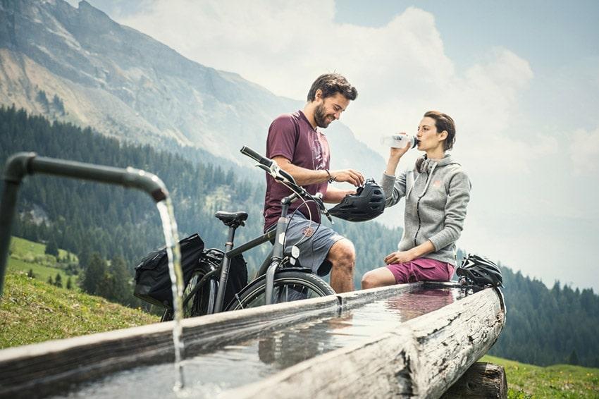 Trekkingbikes für Männer und Frauen.